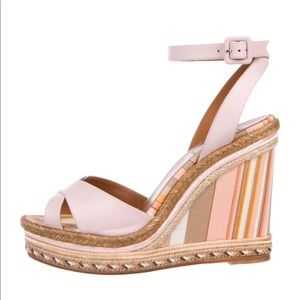 Valentino Couture Wedges